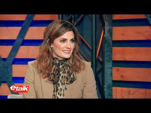 Stana Katic on eTalk  January 19, 2018