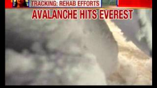 Caught on camera: Avalanche hits Mount Everest