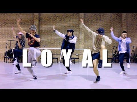 Chris Brown - Loyal (Ft. Lil Wayne, Tyga)   JIN CHOREOGRAPHY