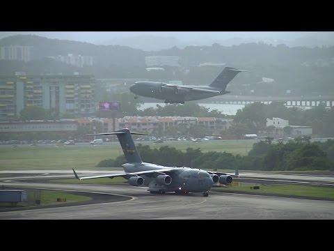 TJSJ Spotting: Airspace Saturation, San Juan Airport at its Finest!