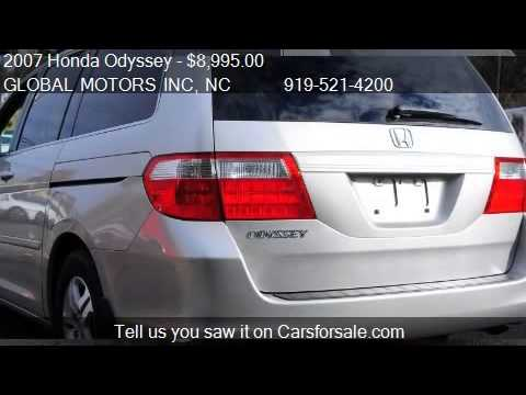 2007 honda odyssey ex 4dr minivan for sale in raleigh nc