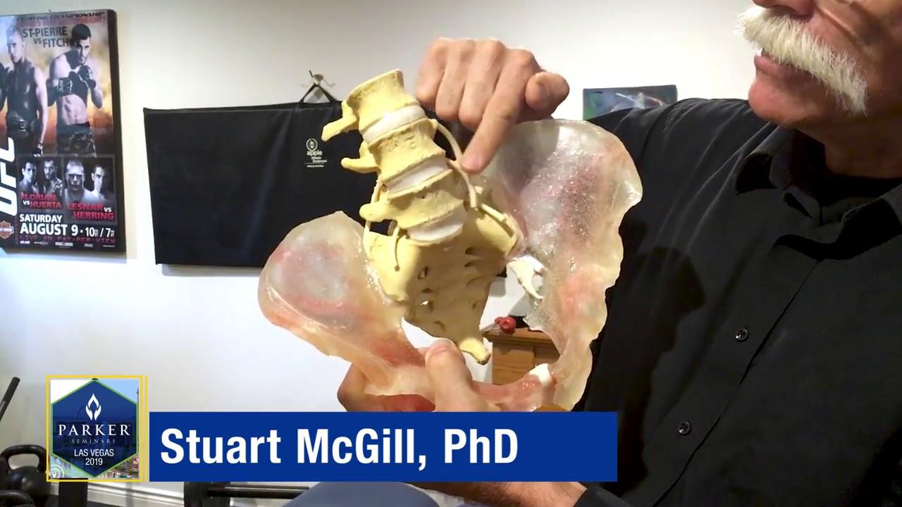 Stuart McGill PhD Will Be At Parker Seminars Las Vegas