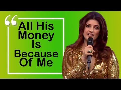 Wife Twinkle Khanna Takes Full Credit for Akshay Kumar's Success