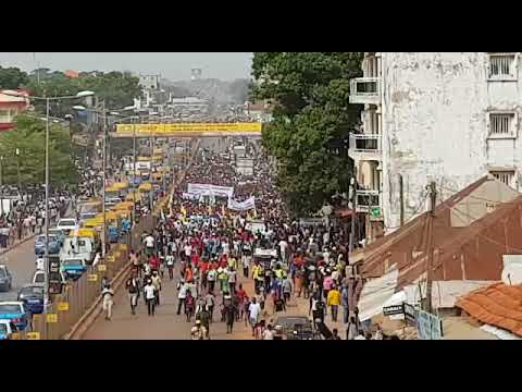 Bissau Protests - Day 2 - 17 November 2017 -1