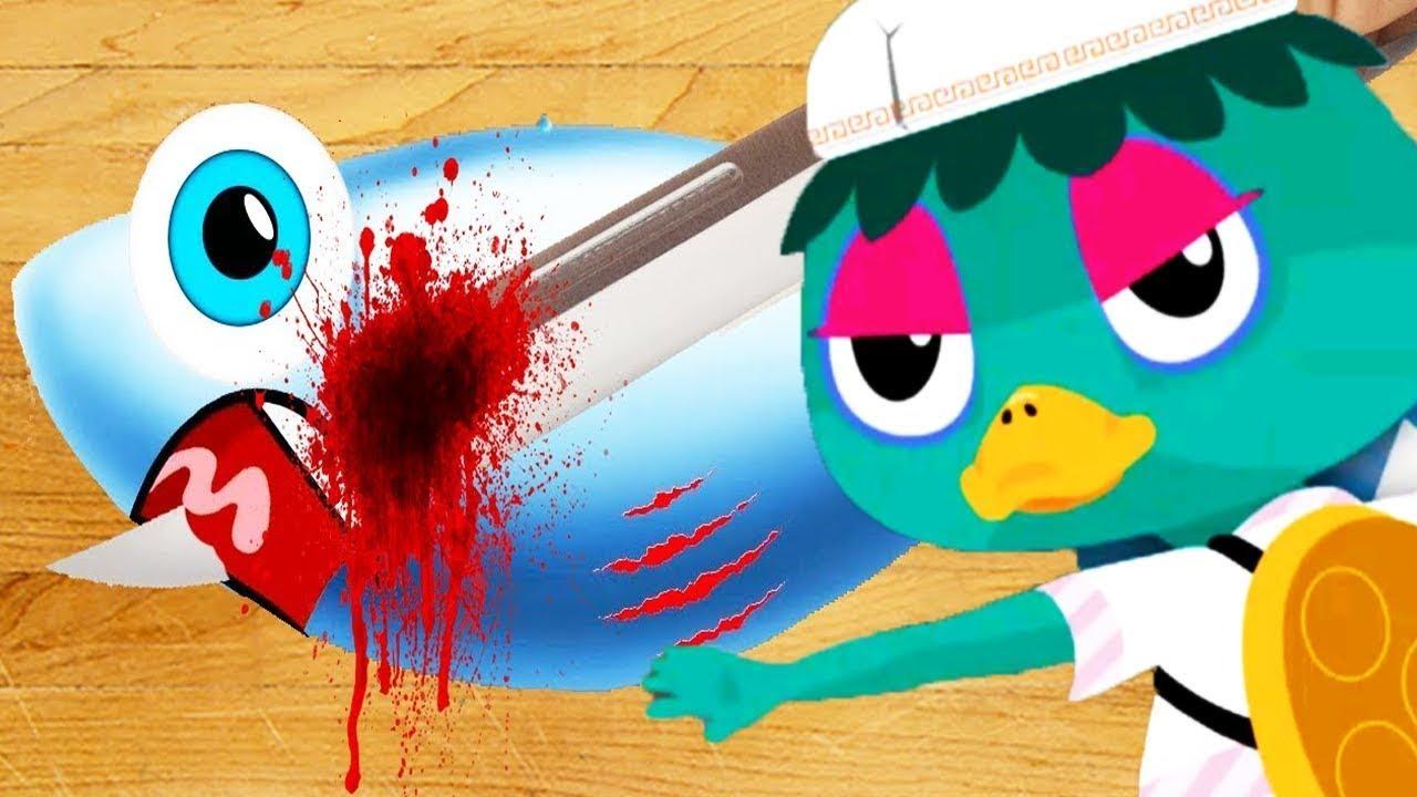 TO-FU OH SUSHI - BAD Guys Play Sushi Kitchen - Fun Kids Games for ...