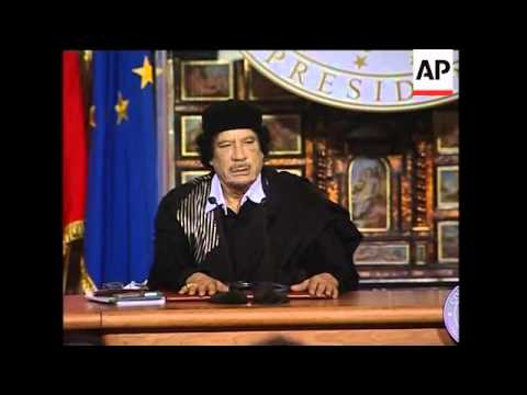 Libyan and Italian leaders hold presser after talks