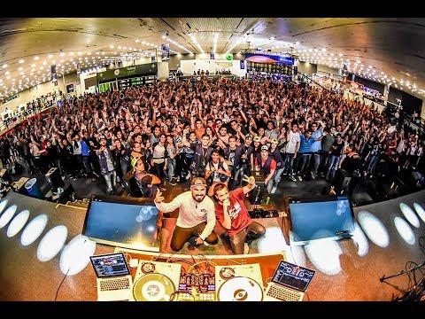 TALENT LAND 2018 DJ BYTE Y DJ JIMMIX SHOW CASE REDBULL 3STYLE