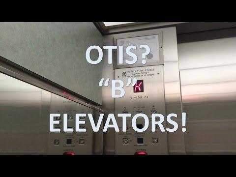 "OTIS? Autotronic ""B"" Traction Elevators @ Mississauga Hospital"