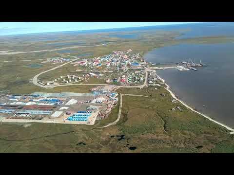 Поселок Новый Порт полуостров Ямал.