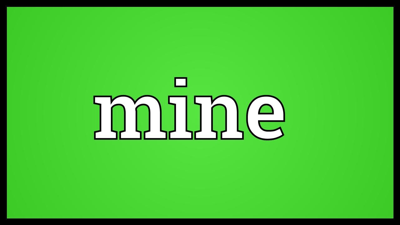 be mine meaning in telugu