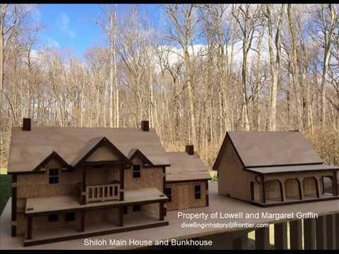 James Drury The Virginian The Virginian Shiloh Main House and Bunkhouse Miniatures