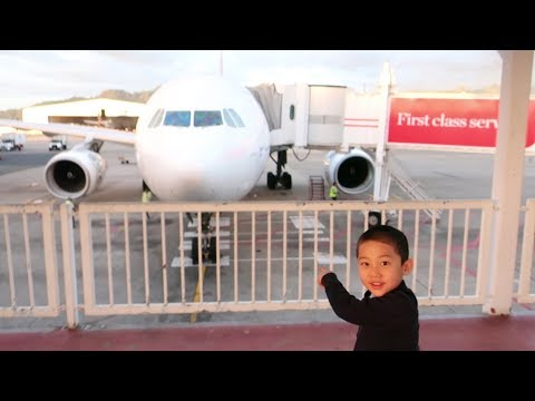 Family Trip to Fiji on Fiji Airways A330, a visit to Qantas Sydney First Class Lounge