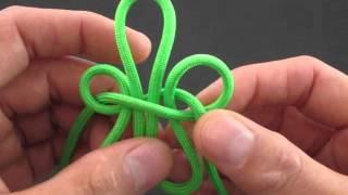 How to Make a Fleur-De-Lis Knot by TIAT