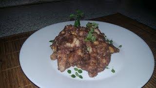 Курица по-сычуаньски с соусом кунь-по по обрусевшему рецепту