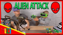 ALIEN ATTACK - VR Alienkiller für zu Hause //  Kinderzimmer Ufo spiel mit mir // SPIELETESTER fHD