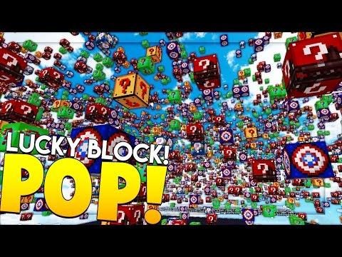 Minecraft LUCKY BLOCK POP MOD 1vs1vs1vs1 EPIC SHOWDOWN