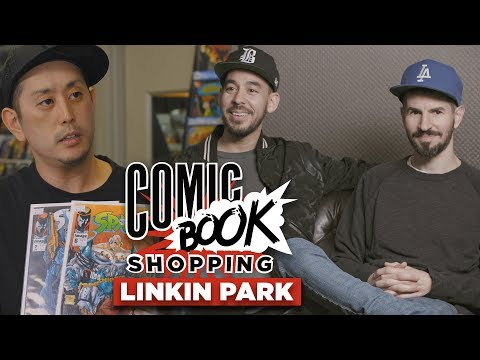 Linkin Park Goes Comic Book Shopping With Collider