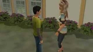 Łzy - Agnieszka (Sims 2 Video)