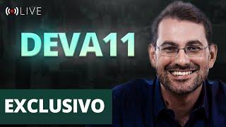 LIVE EXCLUSIVA - Prof. Baroni e time de Gestão do FII DEVA11 - Devant Recebíveis Imobiliários