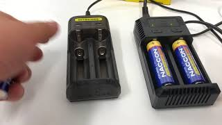 how about nitecore Q2 compares to Nitecore I2 part2