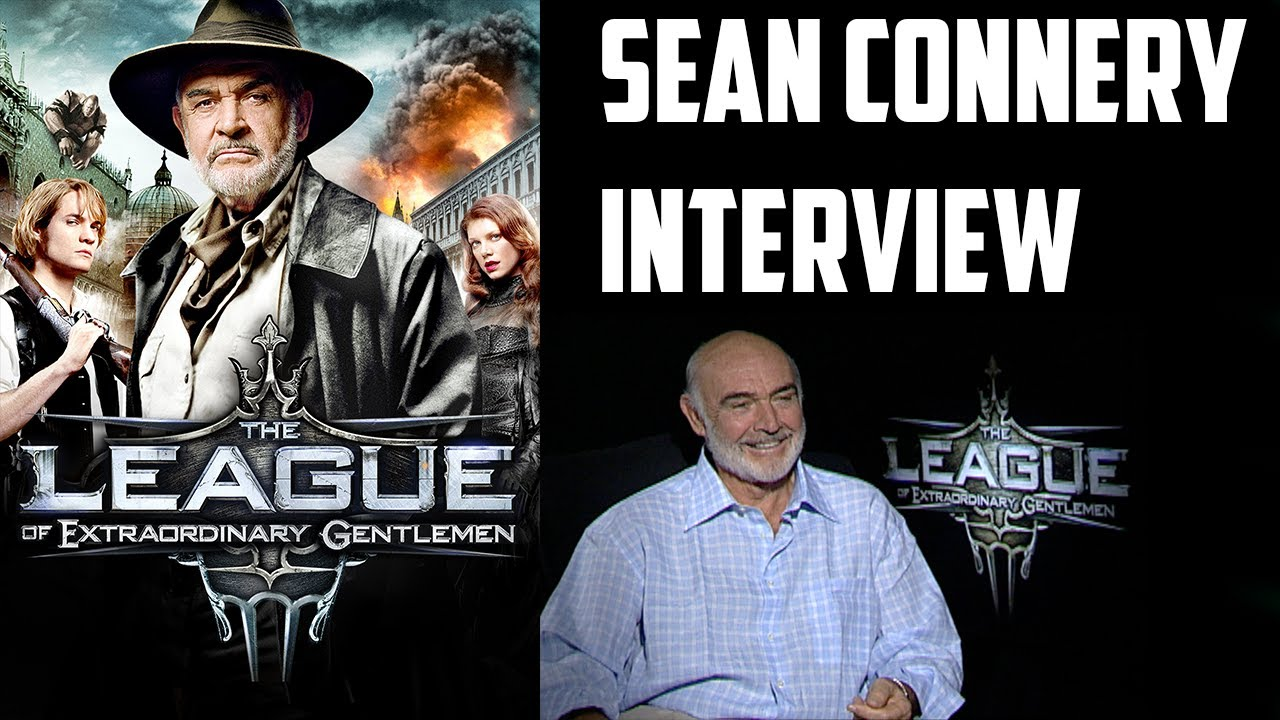 Sean Connery Interview The League Of Extraordinary Gentlemen 2003 Youtube