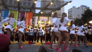 "USC Band ""Tusk"" Union Square San Francisco California 2014"