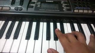 how to play aaise na mujhe tum dekho song on piano ....... piano tutorial