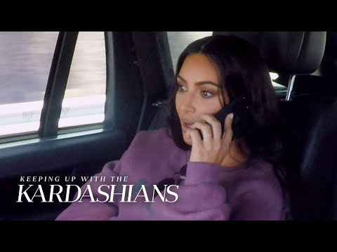 Kim Kardashian's Security Tackles Kris Jenner to the Ground! | KUWTK | E!