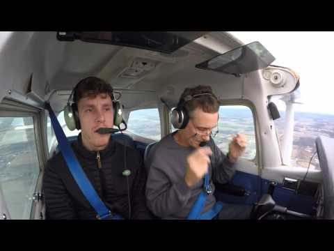 Flying with Aaron for the first time