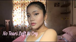 Inspired Make Up Look by Ariana Grande - No Tears Left to Cry