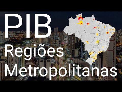 As Regiões Metropolitanas
