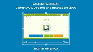 JALTEST WEBINAR | Jaltest AGV. Updates and Innovations 2020