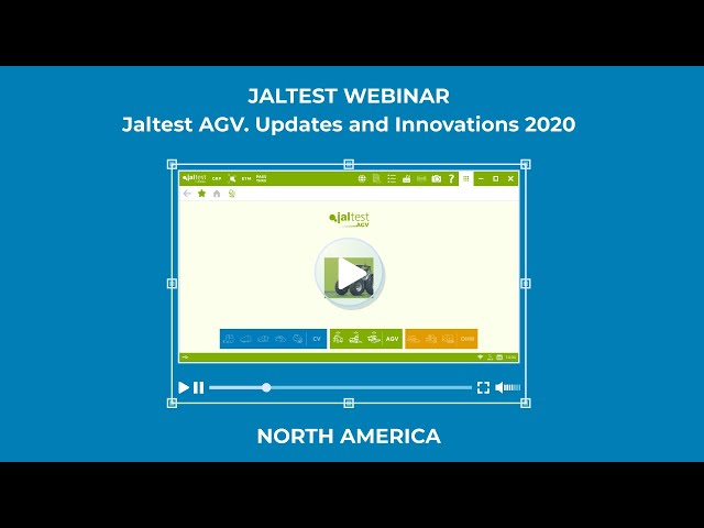 JALTEST WEBINAR | Jaltest AGV. Updates and Innovations 2020