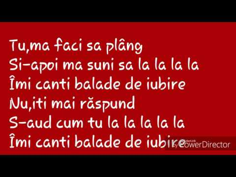 Mira-Balade de iubire(karaoke)