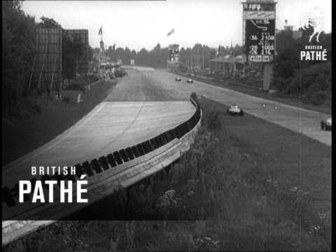 Monza Italy (1956) - YouTube