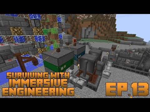 Surviving With Immersive Engineering :: Ep.13 - Optimized Di