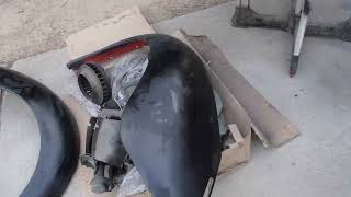 1969 VW Bug Project - Episode 37 - Priming the Decklid and Doors
