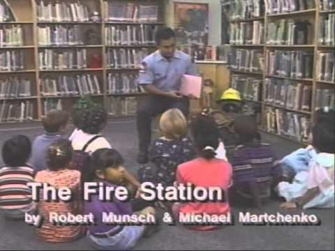 The Fire Station - Glen Ortegra - Robert Munsch - Michael Martchenko.