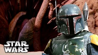 what happened to boba fett s armor after the sarlacc pit