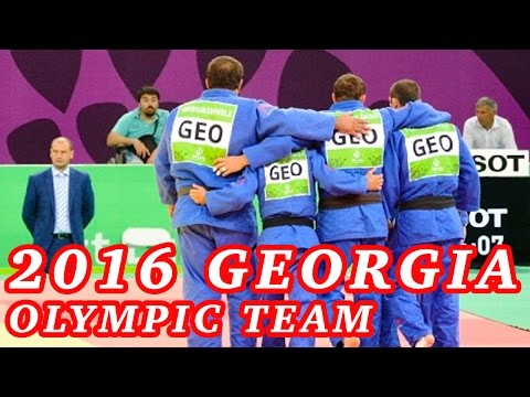 Georgia Judo Olympic Team 2016