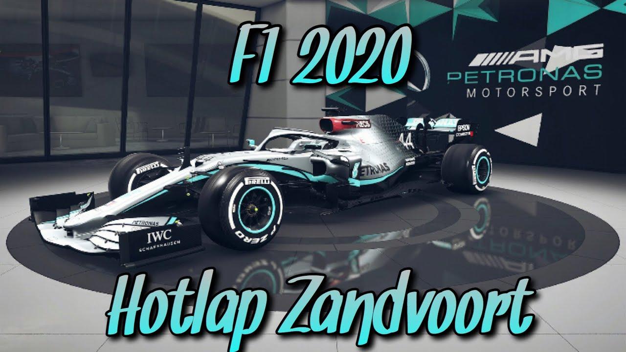 Zandvoort F1 2020 Hotlap + Setup (1.8.933) - YouTube