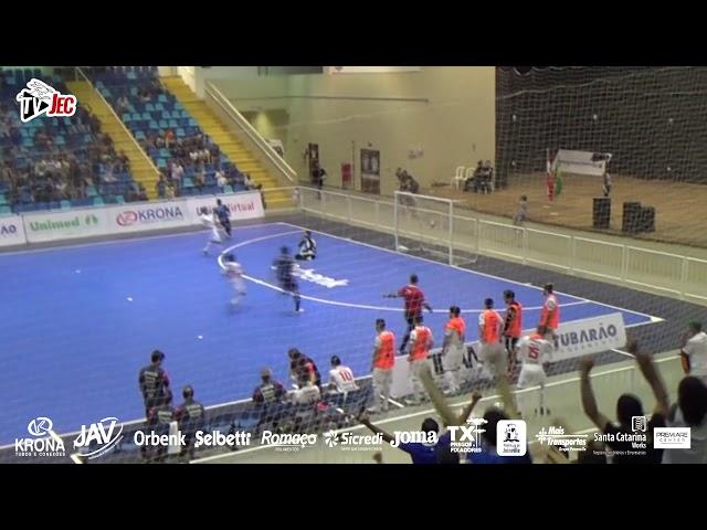 TV JEC - Tubarão 4x3 JEC/Krona - Semifinal Catarinense