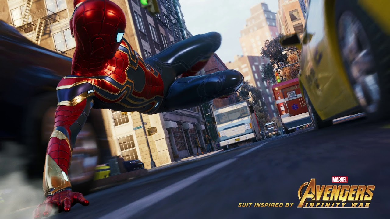 PS4《Marvel's Spider-Man》Iron Spider战衣