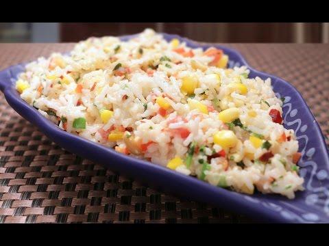Quick Thai Rice – Simple & Easy Main Course Recipe – Leftover Rice Lunch Box Recipe