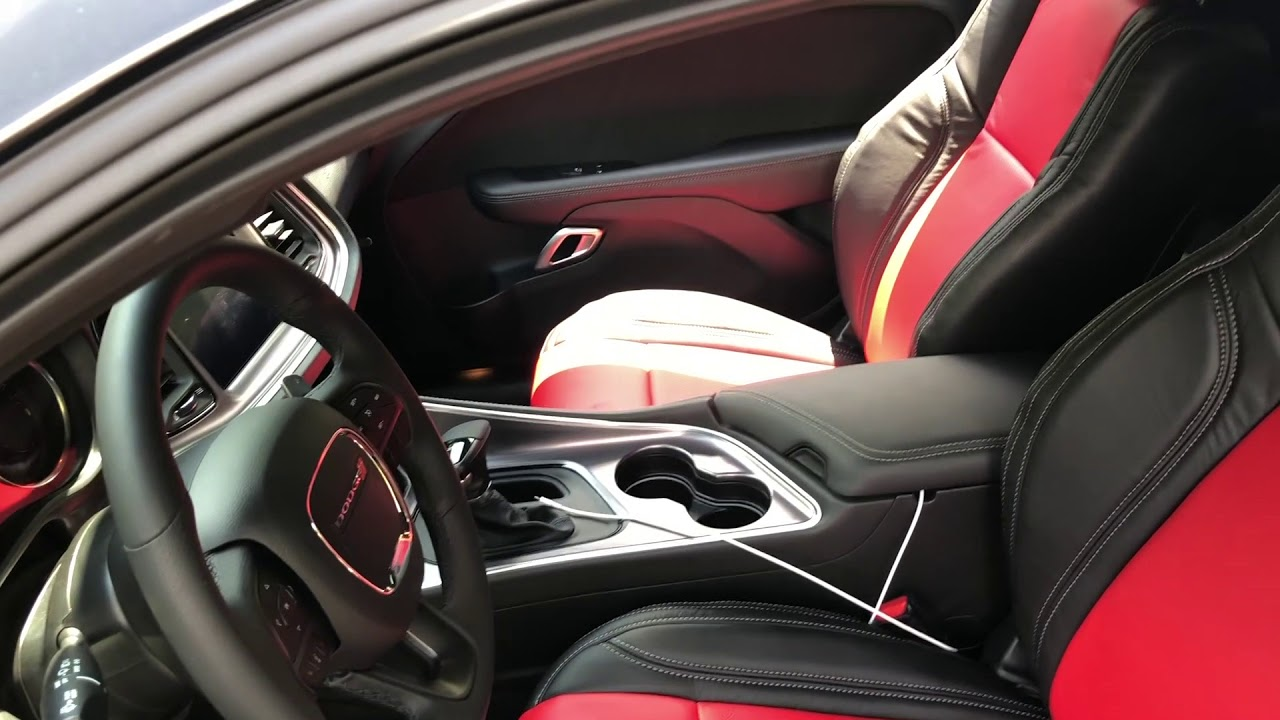 2018 Dodge Challenger >> 2018 Dodge Challenger RT Katzkin Leather Seats Upgrade ...