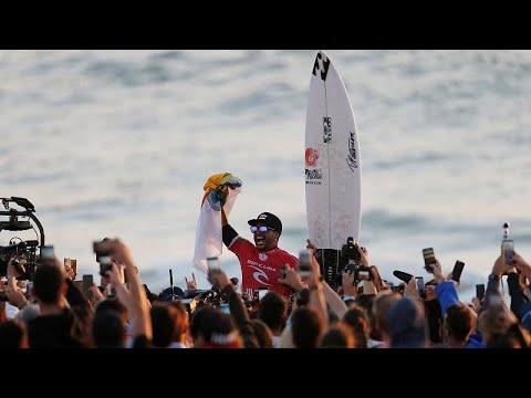 euronews (en français): Surf : Ferreira au sommet de la vague portugaise