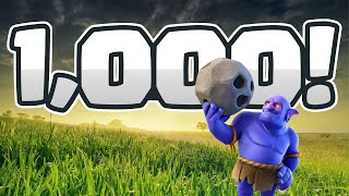 ONE THOUSAND! TH10 Bowlers FTW :)