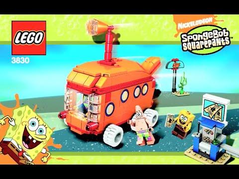 How To Build Lego Spongebob Nickelodeon The Bikini Bottom Express