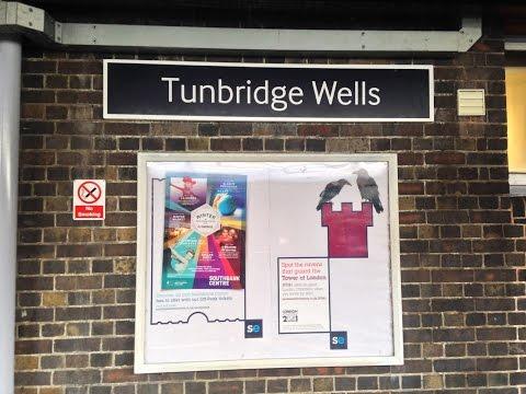 Full Journey on Southeastern from London Cannon Street to Tunbridge Wells