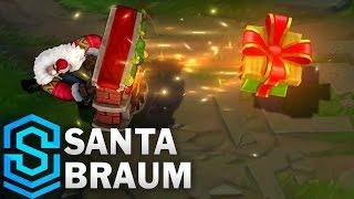 Santa Braum Skin Spotlight - League of Legends